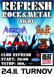 Refresh Rock-Metal Night @ Refresh Club Turnov