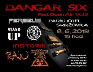 DANGAR SIX OPEN AIR FEST vol.5 @ Parkhotel Smržovka
