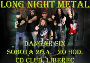 LONG NIGHT METAL @ CD Club, Liberec