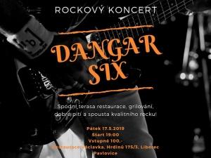 Rockový koncert ve Václavce @ sál Václavka