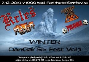 Winter DanGar Six Fest vol.1 @ Sál Parkhotelu Smržovka