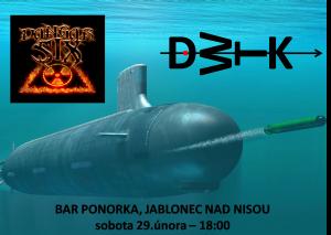 SUBMARINE INCIDENT @ Bar Ponorka